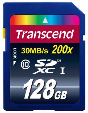 Transcend SDXC Class 10 128GB-0