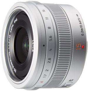 Panasonic G-serie 15mm, F1.7 zilver-0