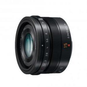 Panasonic G-serie 15mm, F1.7 zwart-0