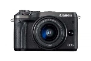 Canon Eos M6 black body-0