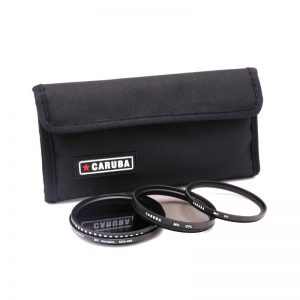 Caruba Filterkit 58 mm UV + CPL + Variable ND 2-400-0