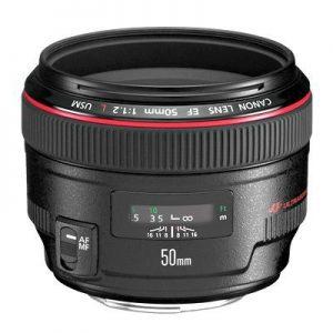 Canon EF 50 mm F1.2 L USM-0