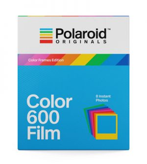 Polaroid 600 film met colored frames-0