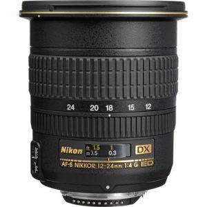 Nikon AF-S 12-24 F4G DX IF-ED-0