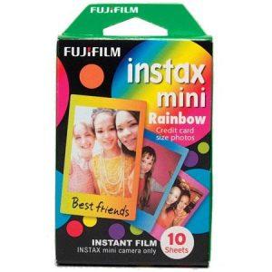 Fujifilm Instax Mini film Rainbow (10 foto's)-0