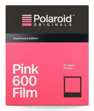 Polaroid 600 film Duochrome Black&Pink Edition-0