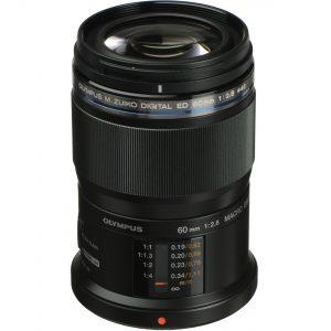 Olympus MZ ED 60 mm F2.8 Macro Zwart -0