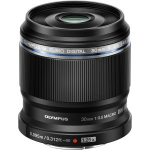 Olympus MZ ED 30 mm F3.5 Macro black-0