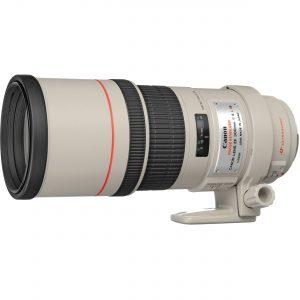 Verhuur Canon EF 300mm F4.0 L IS USM-0