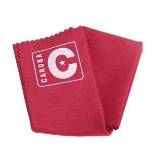 Caruba Microfiber lensdoek 30x30 cm rood-0